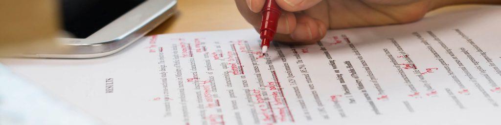 Редактирование диссертаций и дипломных работ